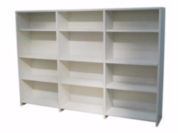 Custom MDF bookcase DOMINIQUE | Bookcase - Mathy by Bols