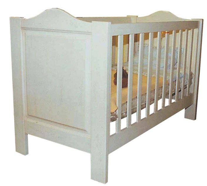 Wooden cot DOMINIQUE | Cot by Mathy by Bols