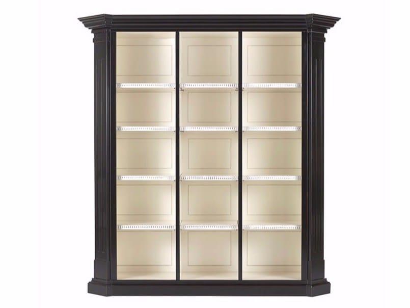 Open beech bookcase DONALD | Bookcase - Gianfranco Ferré Home