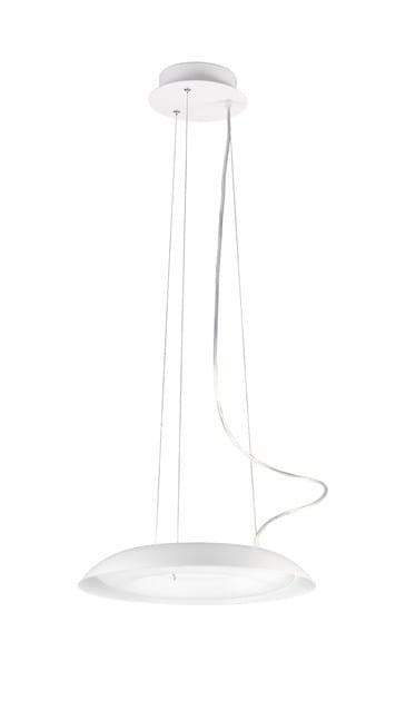 Contemporary style direct light fluorescent aluminium pendant lamp DONUT - ONOK Lighting