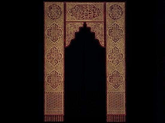 Door fabric curtain DOOR CURTAIN by Venetia Studium