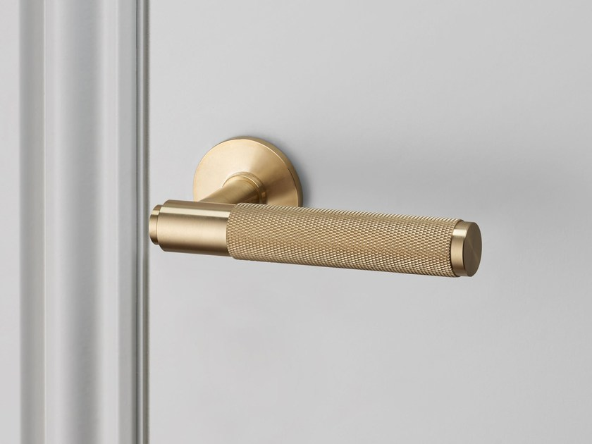 Door Lever Handle Brass By Buster Punch
