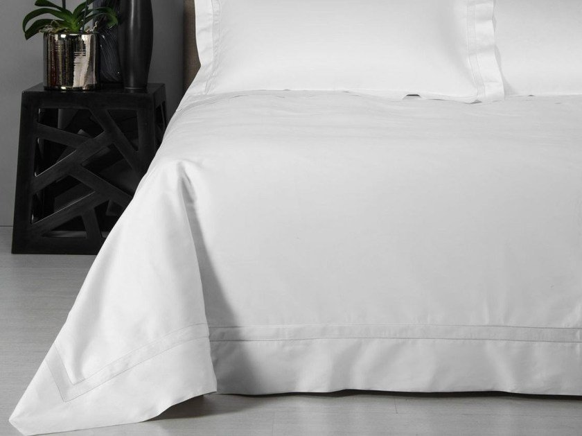 Cotton duvet cover DOPPIO AJOUR | Duvet cover - Frette