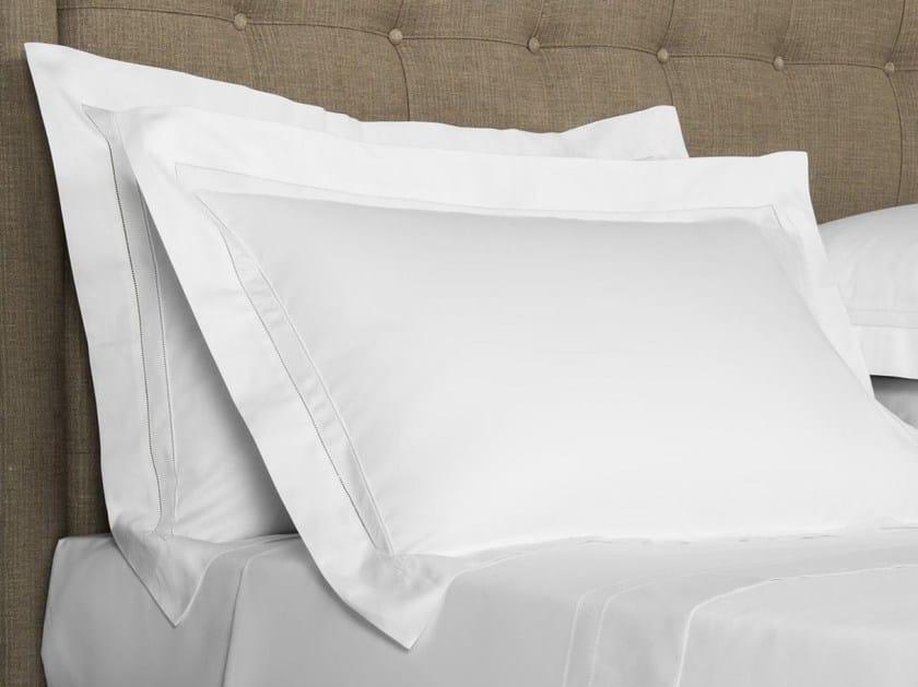 Cotton pillow case DOPPIO AJOUR   Pillow case by Frette