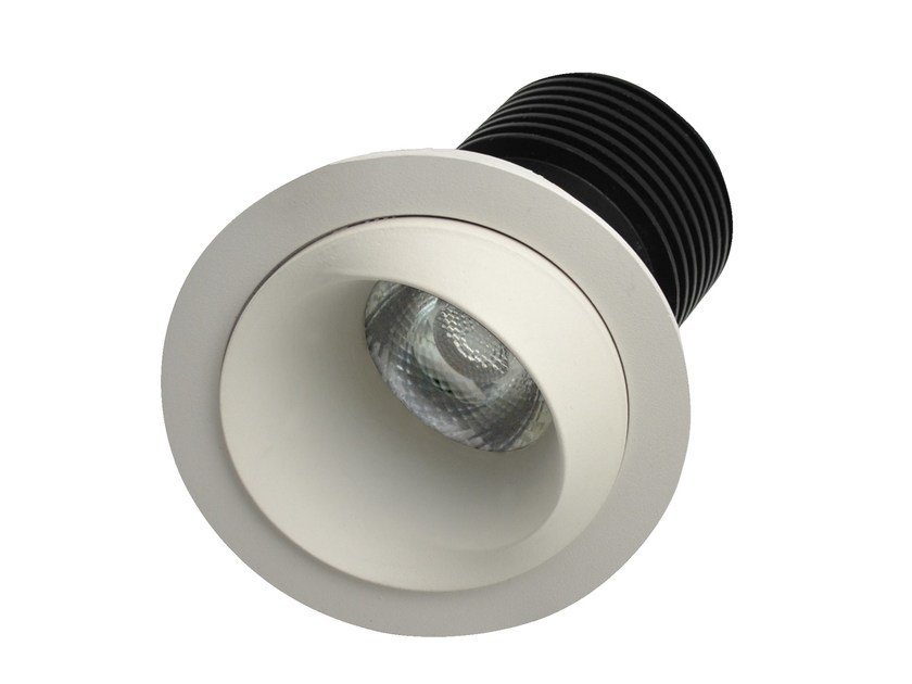 LED round recessed aluminium spotlight DOR by LED BCN