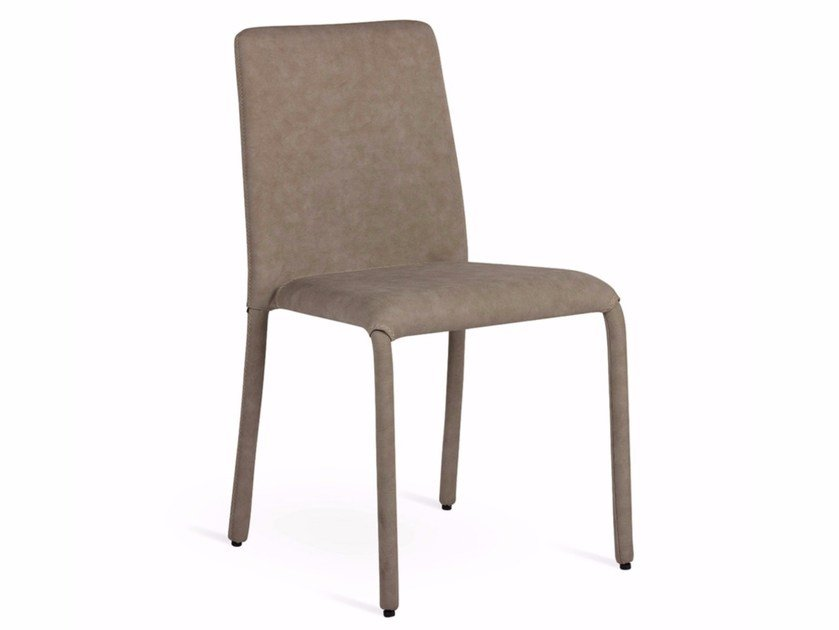 Imitation leather chair DORA-L by Natisa