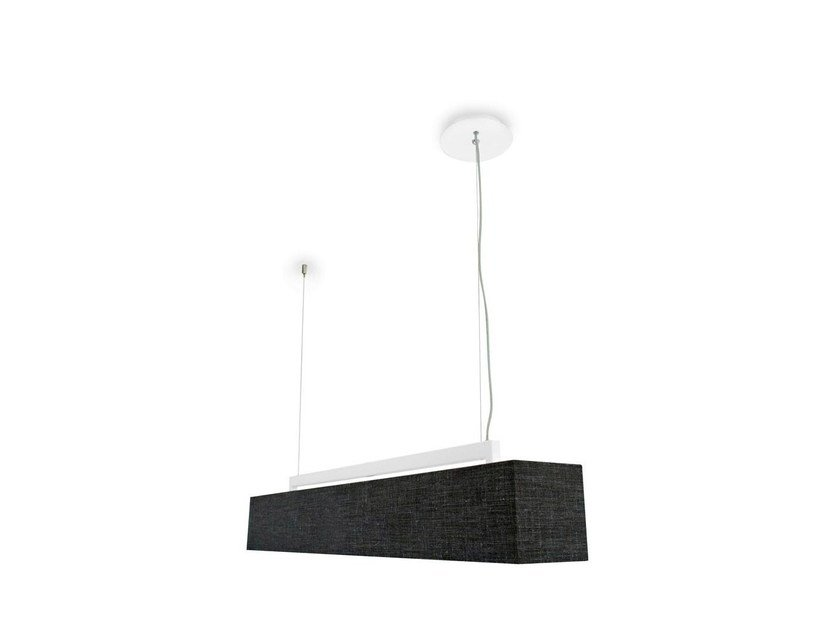 Adjustable fabric pendant lamp DORADO - Calligaris