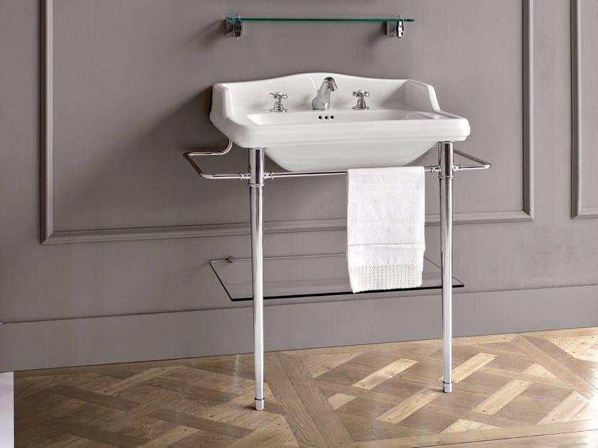 Lavabo a consolle rettangolare con ripiano DOROTHY | Lavabo - BATH&BATH