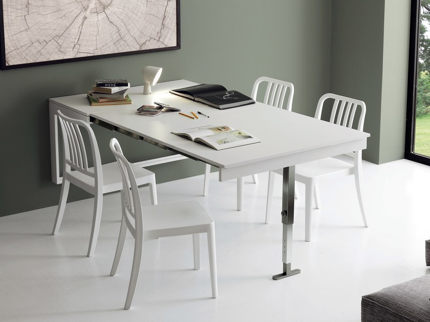 Tavolo a muro allungabile da cucina DORY - IDEAS Group