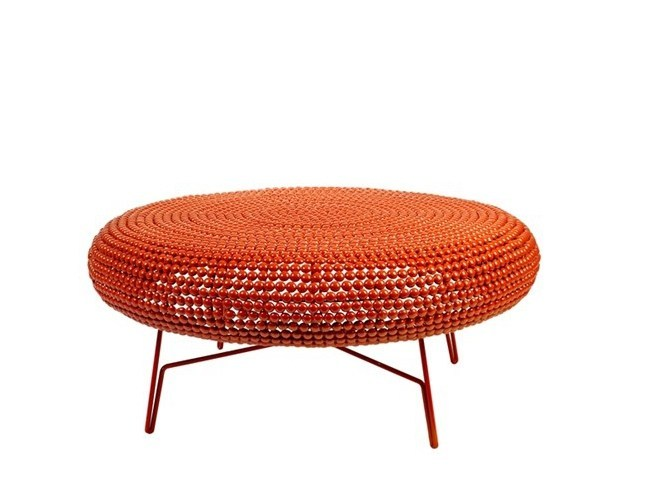 Pouf in metallo DOT LOUNGE - Pols Potten