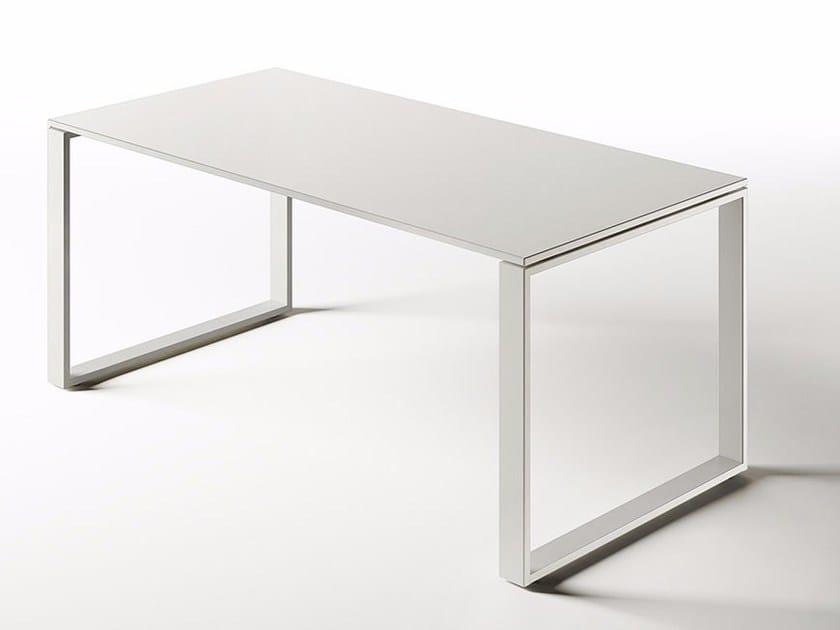 Sectional rectangular workstation desk DOTBOX EVOLUTION | Office desk - Dieffebi