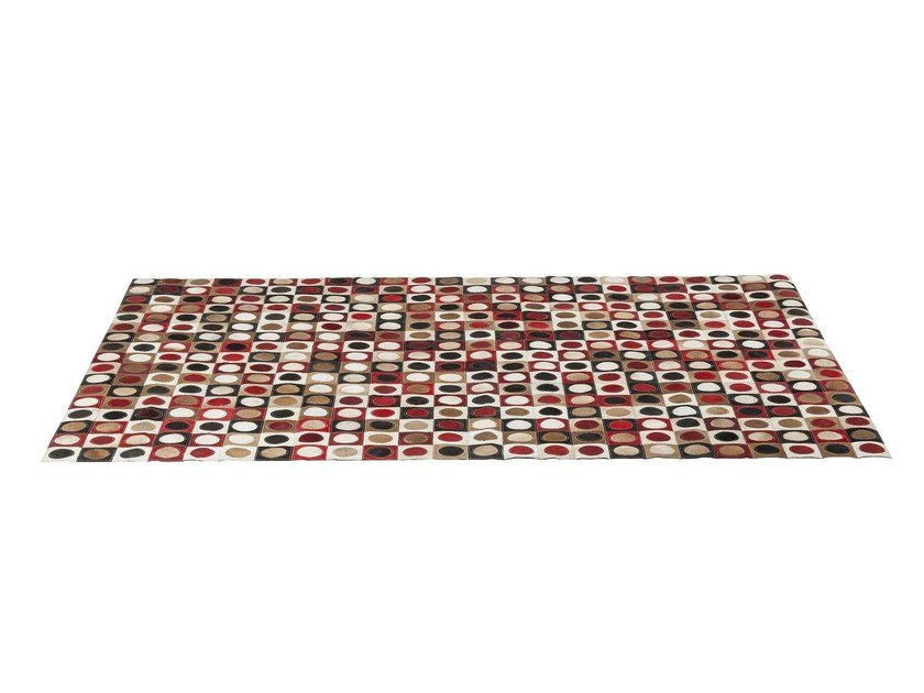 Rectangular rug with geometric shapes DOTTY PRIL - KARE-DESIGN