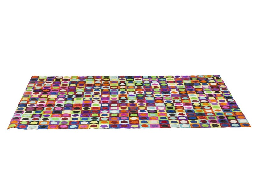 Rectangular rug with geometric shapes DOTTY PRIL MULTI by KARE-DESIGN