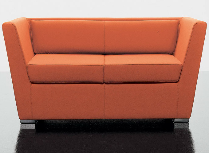 2 seater fabric sofa DOUBLE | Sofa by D.M.