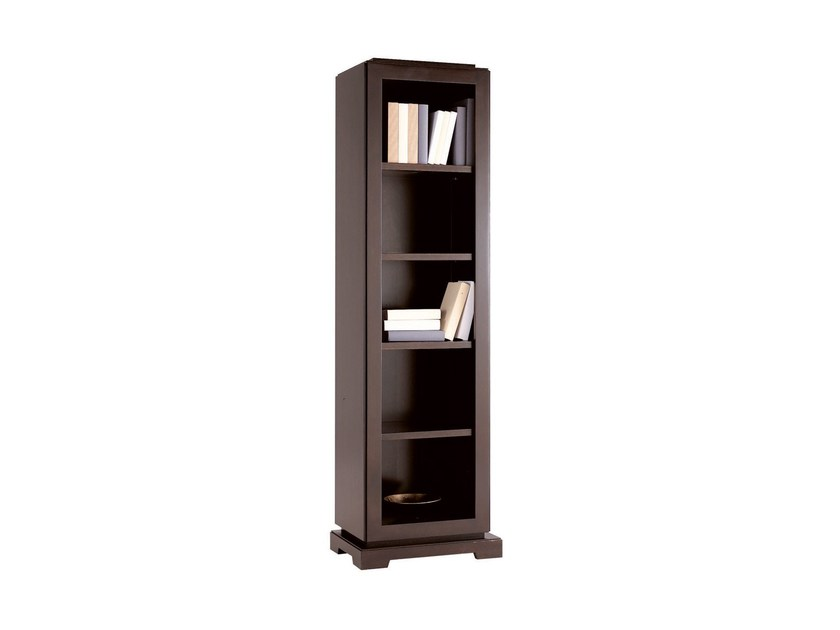 Wall-mounted wooden bookcase DOWNTOWN | Bookcase - SELVA