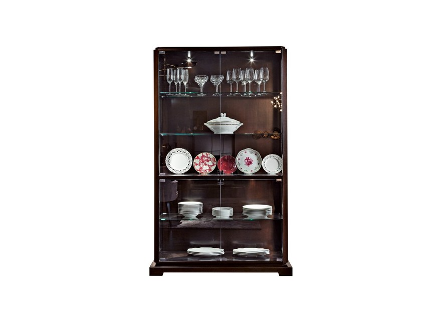 Crystal display cabinet DOWNTOWN | Display cabinet - SELVA