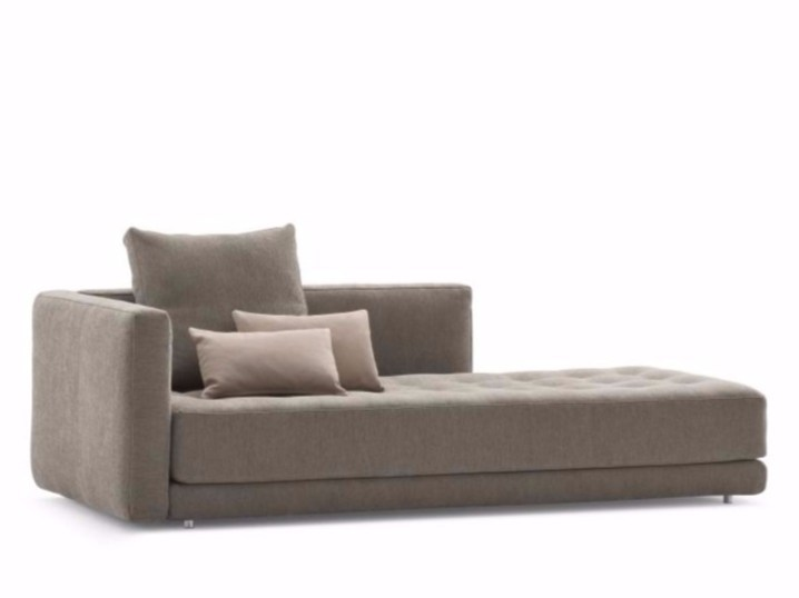 Sectional sofa with removable cover DOZE FLAT | Sectional sofa by Flou