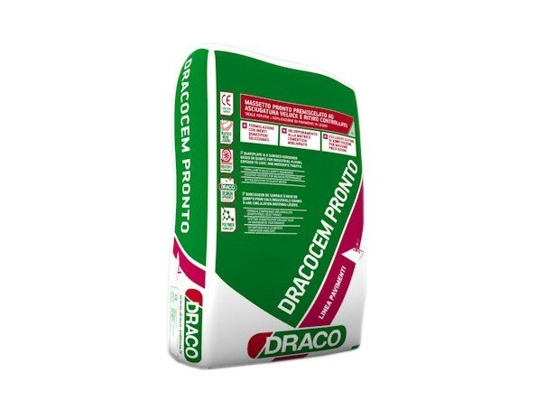 Screed and base layer for flooring DRACOCEM PRONTO by DRACO ITALIANA