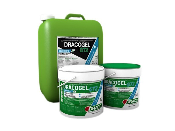 Additive and resin for waterproofing DRACOGEL GT2 - DRACO ITALIANA