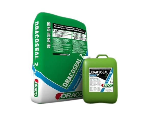 Cement-based waterproofing product DRACOSEAL 2 by DRACO ITALIANA