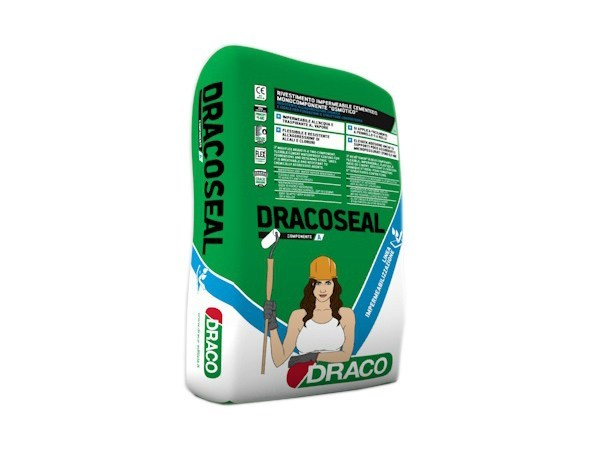 Cement-based waterproofing product DRACOSEAL - DRACO ITALIANA