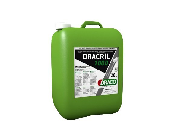 Additive for cement and concrete DRACRIL 1000 - DRACO ITALIANA