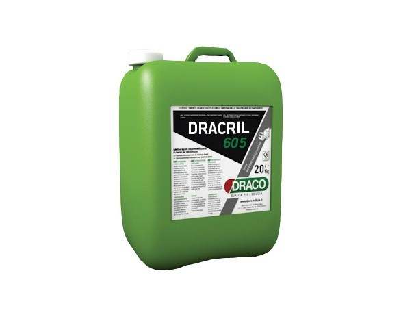 Additive for cement and concrete DRACRIL 605 by DRACO ITALIANA