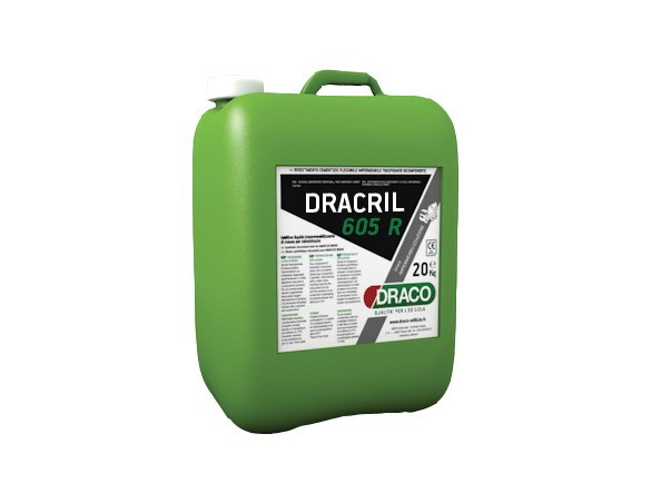 Additive for cement and concrete DRACRIL 605 R - DRACO ITALIANA