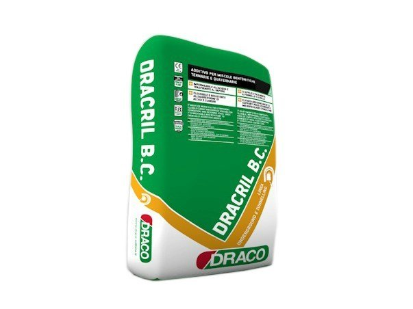 Additive for cement and concrete DRACRIL B.C. - DRACO ITALIANA