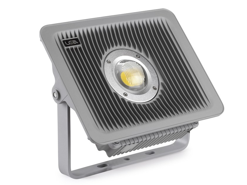 LED adjustable aluminium Outdoor floodlight DRAGON - LED BCN Lighting Solutions