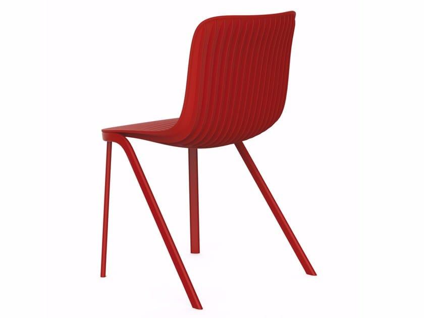 Polypropylene chair DRAGONFLY | Polypropylene chair - Segis