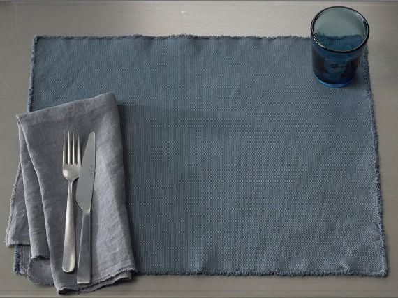 Cotton canvas table mats DRAI - Society Limonta