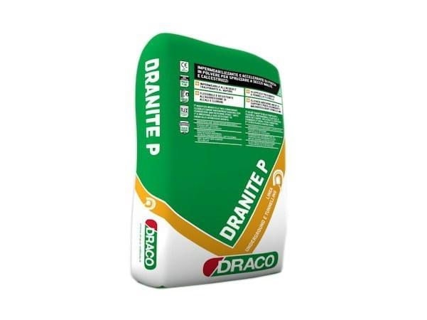 Additive for cement and concrete DRANITE P - DRACO ITALIANA