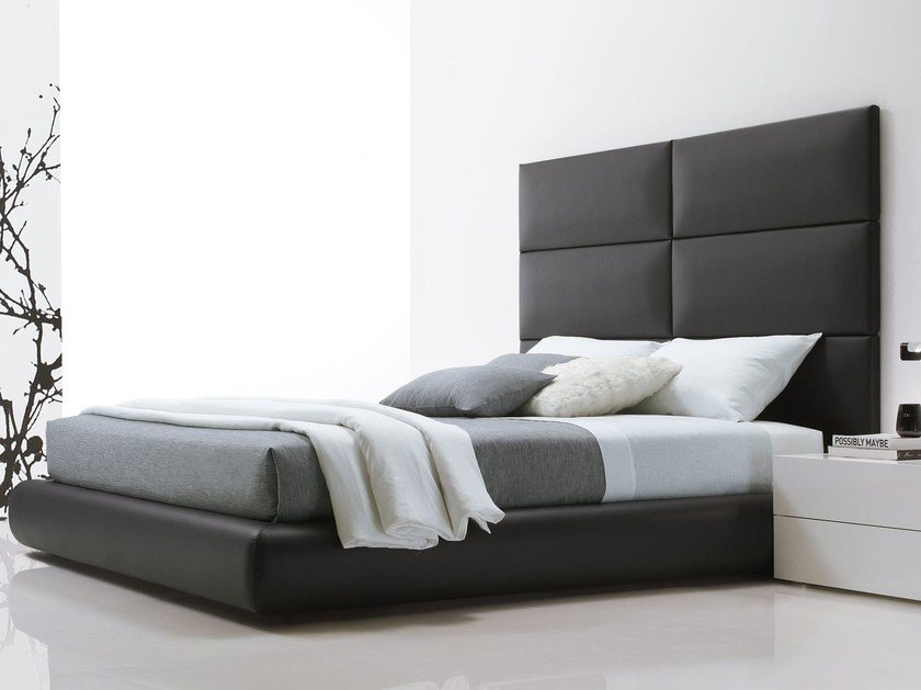 Letto Matrimoniale Poliform : Dream letto con testiera alta by poliform design marcel