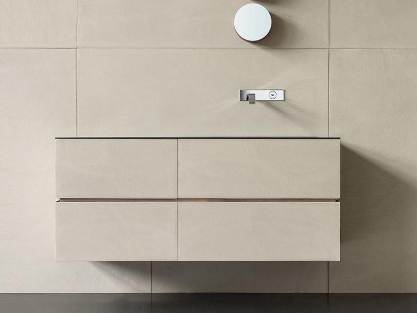 Mobile lavabo sospeso con cassetti DRESSCODE - Moab 80