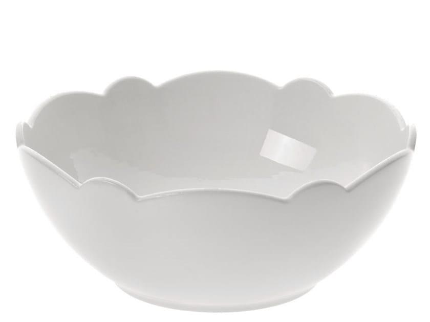 Porcelain serving bowl DRESSED | Serving bowl - ALESSI