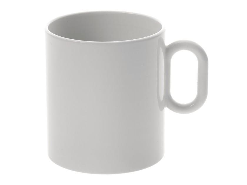 Porcelain mug DRESSED | Mug - ALESSI