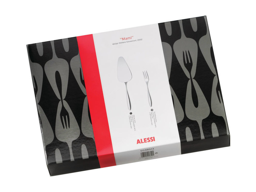 Stainless steel cutlery set MW03S13 | Cutlery set - ALESSI