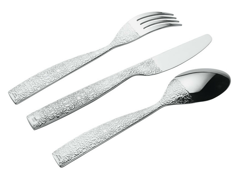 Stainless steel cutlery set MW03S75 | Cutlery set - ALESSI