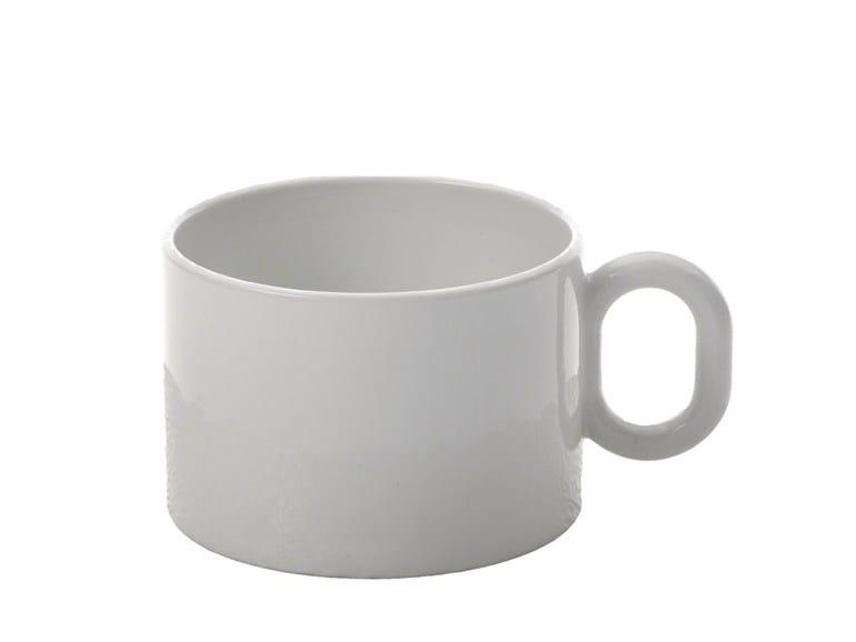 Porcelain tea cup DRESSED | Tea cup - ALESSI
