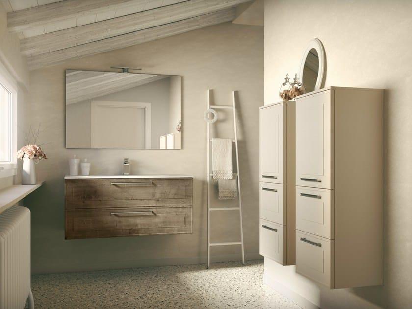 Bathroom furniture set DRESSY COMP 02 by Idea