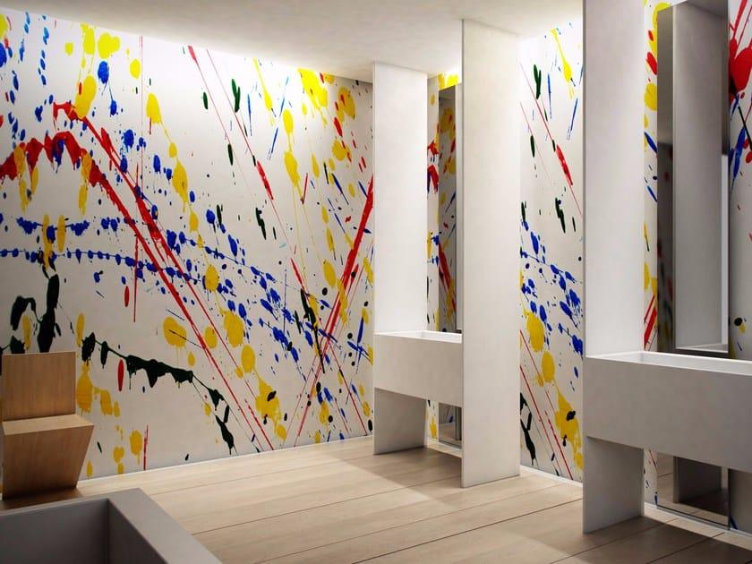 Washable vinyl wallpaper DRIP - GLAMORA
