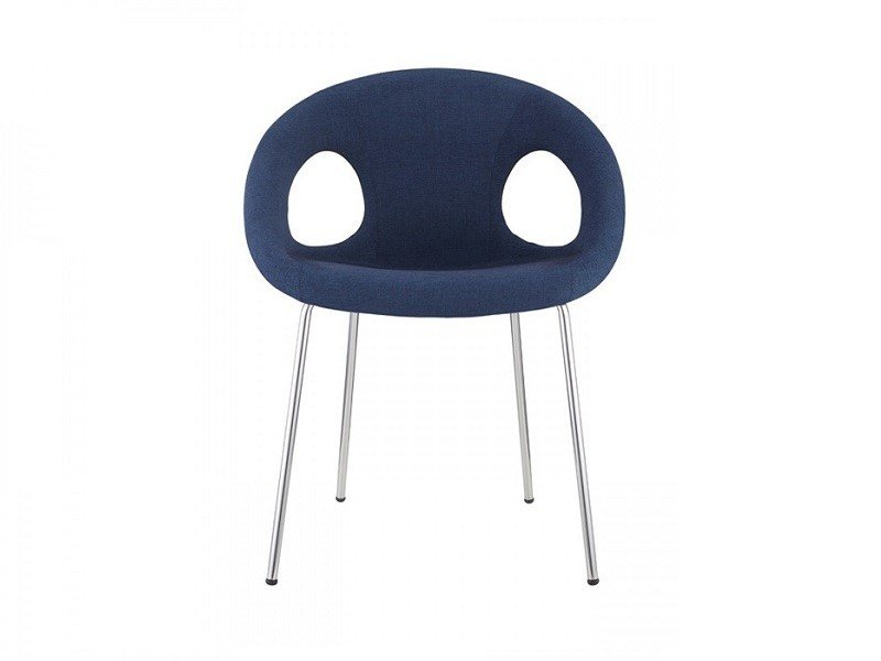 Contemporary style upholstered chair with armrests DROP POP | Upholstered chair by SCAB DESIGN