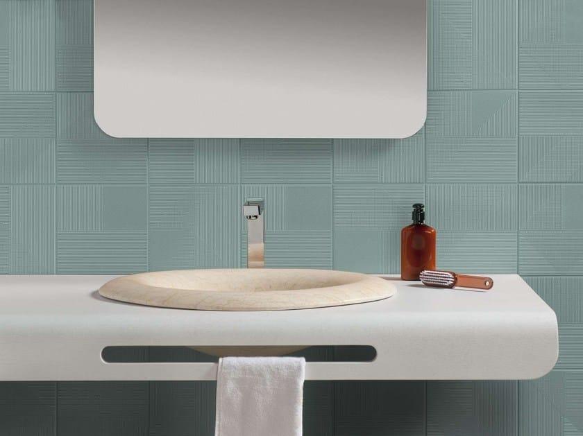 Undermount washbasin DROP by Harmony