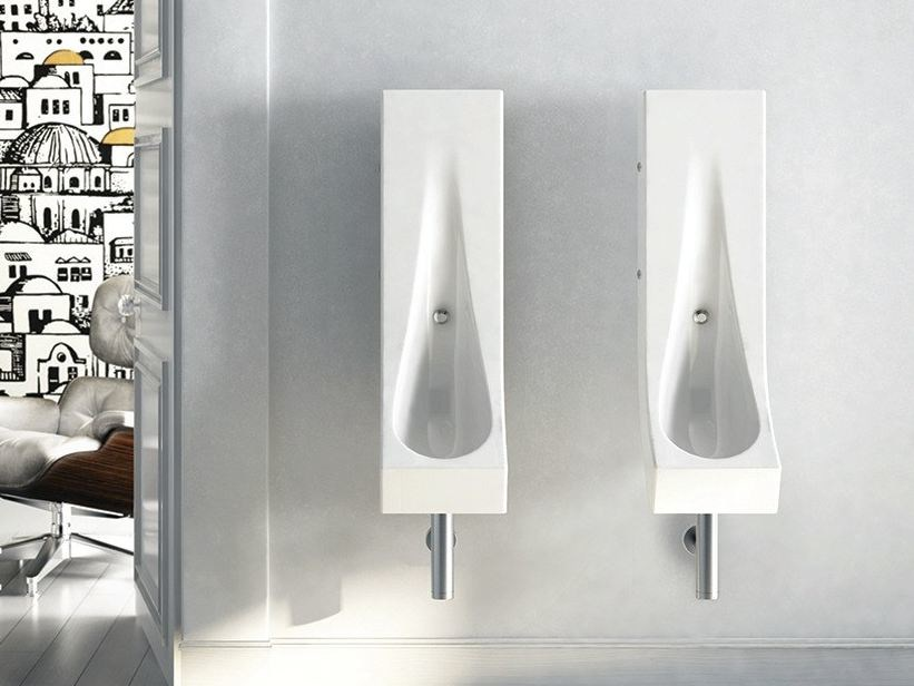 Suspended ceramic Urinal DROP | Urinal - Hidra Ceramica