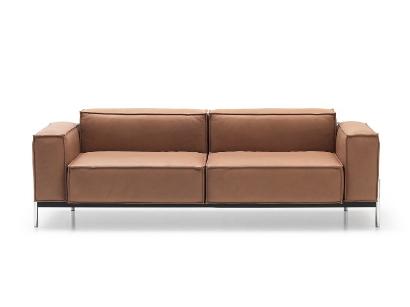 2 seater leather sofa DS-21 | 2 seater sofa - de Sede