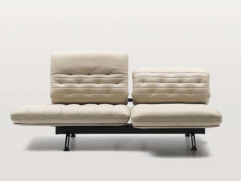 Tufted leather sofa DS-490   Sofa by de Sede