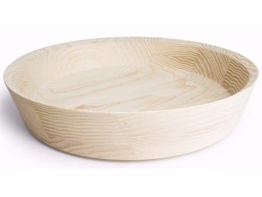 Ash serving bowl DUA Large - kommod