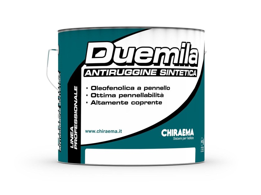 Rust prevention and converter product DUEMILA by CHIRAEMA