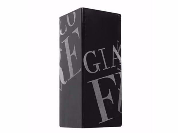Crystal vase DUKE LOGO - Gianfranco Ferré Home
